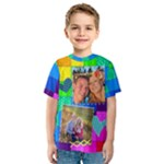 Rainbow Stitch Shirt - Kids  Sport Mesh Tee