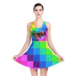 Rainbow Stitch - Reversible Skater Dress