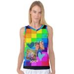 Rainbow Stitch - Women s Basketball Tank Top