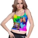 Rainbow Stitch - Spaghetti Strap Bra Top