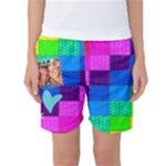 Rainbow Stitch - Women s Basketball Shorts
