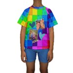 Rainbow Stitch - Kids  Short Sleeve Swimwear