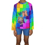 Rainbow Stitch - Kids  Long Sleeve Swimwear