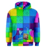 Rainbow Stitch - Men s Zipper Hoodie