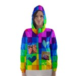 Rainbow Stitch - Hooded Wind Breaker (Women)