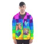 Rainbow Stitch - Hooded Wind Breaker (Men)