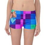 Rainbow Stitch - Reversible Boyleg Bikini Bottoms