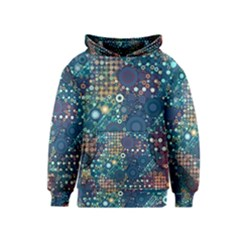 Blue Bubbles Kid s Pullover Hoodies by KirstenStar