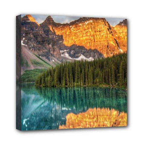 Banff National Park 4 Mini Canvas 8  X 8  by trendistuff