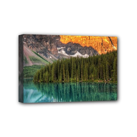 Banff National Park 4 Mini Canvas 6  X 4  by trendistuff