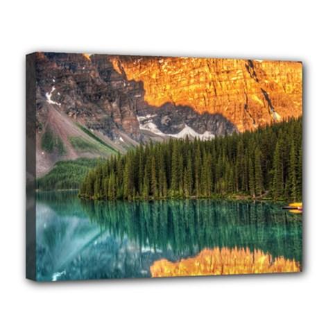Banff National Park 4 Canvas 14  X 11  by trendistuff