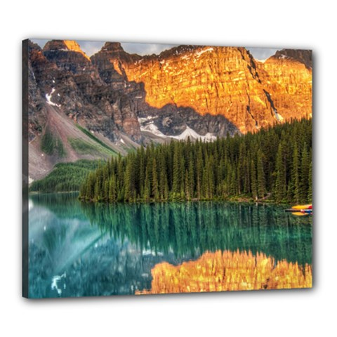 Banff National Park 4 Canvas 24  X 20  by trendistuff