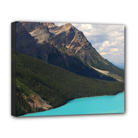 Banff National Park 3 Deluxe Canvas 20  X 16   by trendistuff