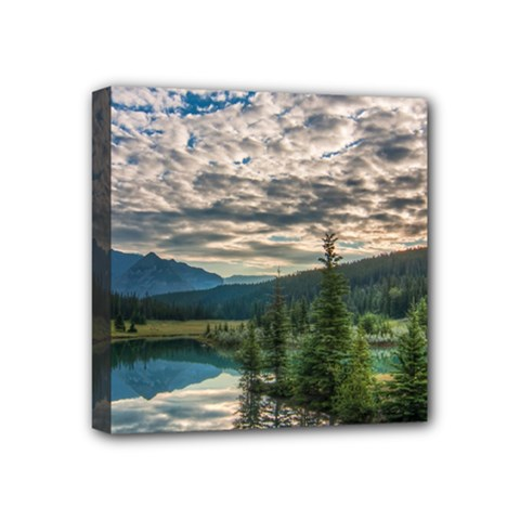 Banff National Park 2 Mini Canvas 4  X 4  by trendistuff