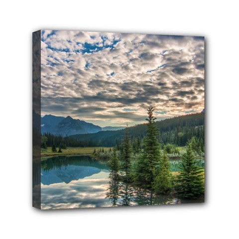 Banff National Park 2 Mini Canvas 6  X 6  by trendistuff