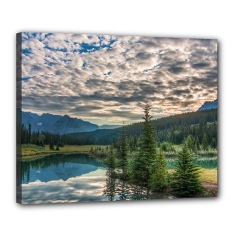 Banff National Park 2 Canvas 20  X 16  by trendistuff