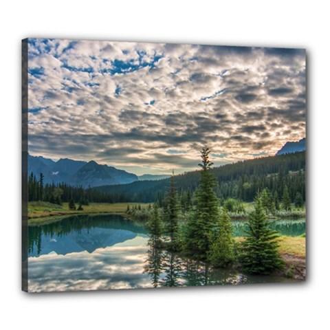 Banff National Park 2 Canvas 24  X 20  by trendistuff