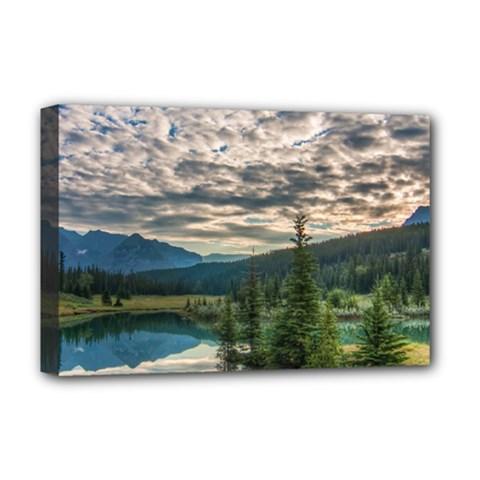 Banff National Park 2 Deluxe Canvas 18  X 12   by trendistuff