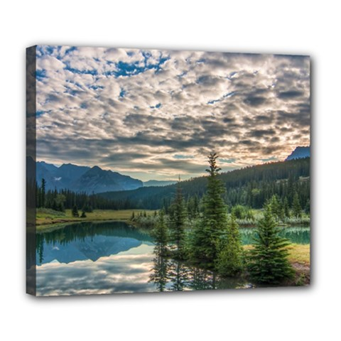 Banff National Park 2 Deluxe Canvas 24  X 20   by trendistuff