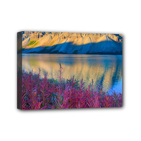 Banff National Park 1 Mini Canvas 7  X 5  by trendistuff