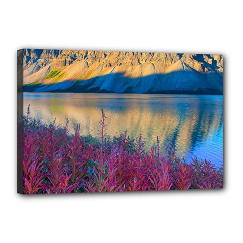 Banff National Park 1 Canvas 18  X 12  by trendistuff
