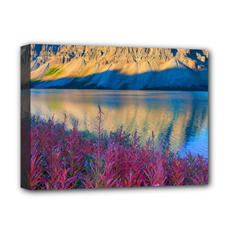 Banff National Park 1 Deluxe Canvas 16  X 12   by trendistuff