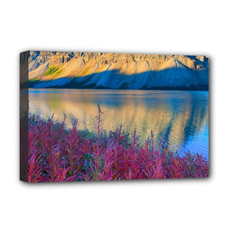 Banff National Park 1 Deluxe Canvas 18  X 12   by trendistuff
