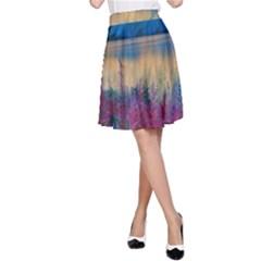 Banff National Park 1 A Line Skirt by trendistuff