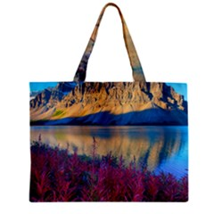 Banff National Park 1 Zipper Tiny Tote Bags by trendistuff