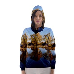 Autumn Lake Hooded Wind Breaker (women) by trendistuff