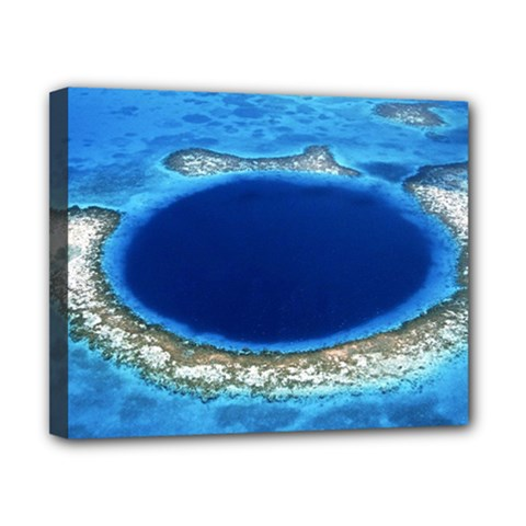Great Blue Hole 2 Canvas 10  X 8  by trendistuff