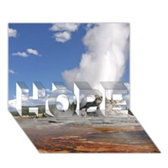 YELLOWSTONE CASTLE HOPE 3D Greeting Card (7x5)  by trendistuff