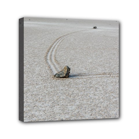 Sailing Stones Mini Canvas 6  X 6  by trendistuff