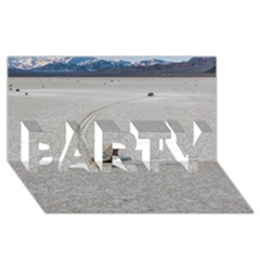 Sailing Stones Party 3d Greeting Card (8x4)  by trendistuff