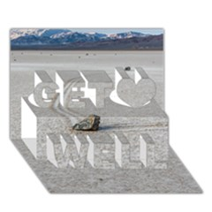 Sailing Stones Get Well 3d Greeting Card (7x5)  by trendistuff