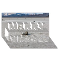 Sailing Stones Merry Xmas 3d Greeting Card (8x4)  by trendistuff