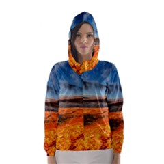 Fire River Hooded Wind Breaker (women) by trendistuff