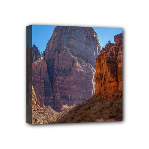 ZION NATIONAL PARK Mini Canvas 4  x 4  by trendistuff