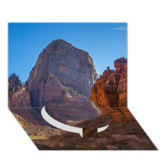 Zion National Park Circle Bottom 3d Greeting Card (7x5)  by trendistuff