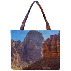 Zion National Park Tiny Tote Bags by trendistuff