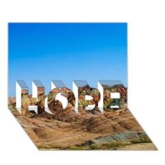 Zhangye Danxia Hope 3d Greeting Card (7x5)  by trendistuff