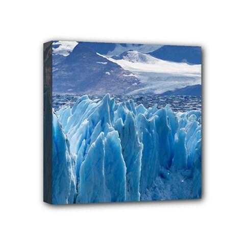 Upsala Glacier Mini Canvas 4  X 4  by trendistuff