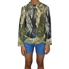 MOUNTAIN PATH Kid s Long Sleeve Swimwear by trendistuff