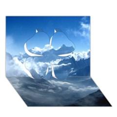 Kangchenjunga Clover 3d Greeting Card (7x5)  by trendistuff