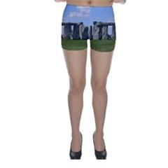 STONEHENGE Skinny Shorts by trendistuff