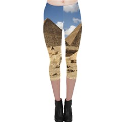 Pyramid Giza Capri Leggings by trendistuff