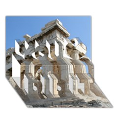 Parthenon You Did It 3d Greeting Card (7x5) by trendistuff