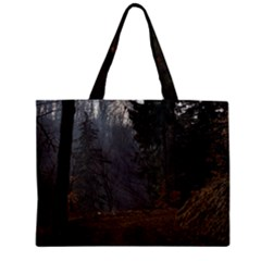 Twilight Road Zipper Tiny Tote Bags by trendistuff