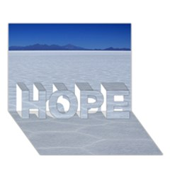 SALT FLATS HOPE 3D Greeting Card (7x5)  by trendistuff