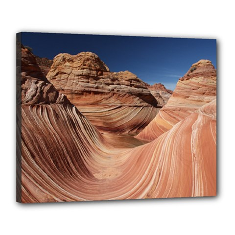 Petrified Sand Dunes Canvas 20  X 16  by trendistuff